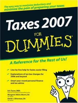 Taxes 2007 for Dummies 9780470079010