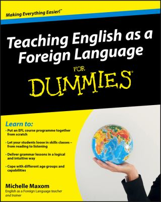 Teaching English as a Foreign Language for Dummies 9780470745762