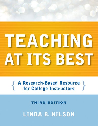 Teaching at Its Best: A Research-Based Resource for College Instructors 9780470401040