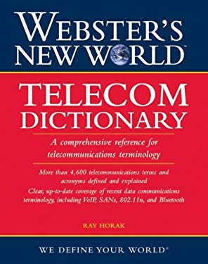 Telecom Dictionary 9780471774570