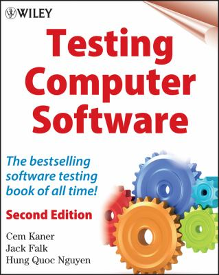 Testing Computer Software 9780471358466