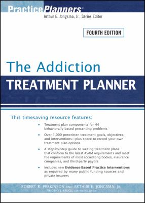 The Addiction Treatment Planner 9780470405512
