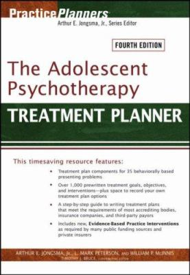The Adolescent Psychotherapy Treatment Planner 9780471785392