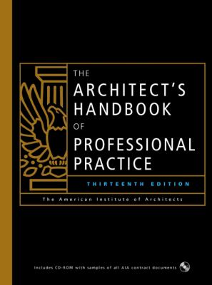 The Architect's Handbook of Professional Practice 9780471419693
