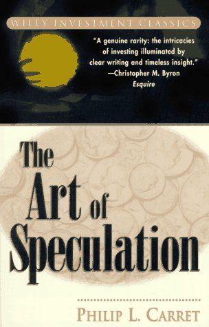 The Art of Speculation 9780471181880