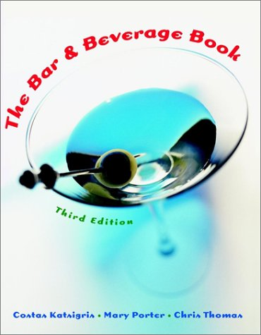 The Bar and Beverage Book 9780471362463