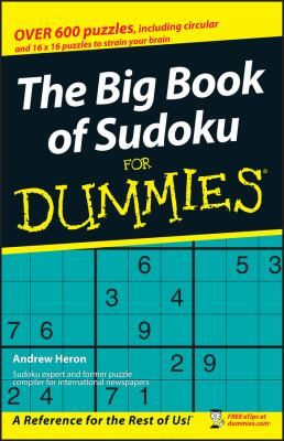 The Big Book of Sudoku for Dummies 9780470105382