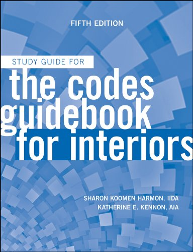 The Codes Guidebook for Interiors, Study Guide 9780470592106