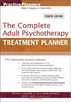 The Complete Adult Psychotherapy Treatment Planner 9780471763468