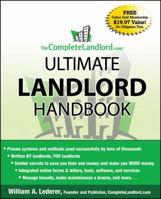 The CompleteLandlord.com Ultimate Landlord Handbook 9780470323151