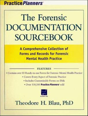 The Forensic Documentation Sourcebook: A Comprehensive Collection of Forms and Records for Forensic Mental Health Practice [With CDROM] 9780471254591