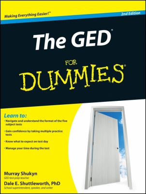 The GED for Dummies 9780470570807