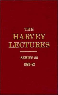 The Harvey Lectures, Series 88, 1992-1993 9780471076568