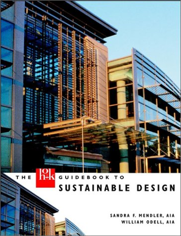 The Hok Guidebook to Sustainable Design 9780471379065