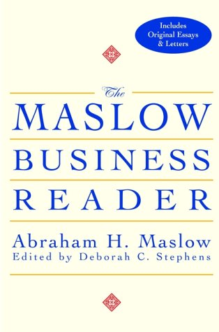 The Maslow Business Reader 9780471360087
