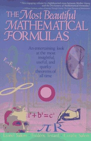 The Most Beautiful Mathematical Formulas 9780471176626
