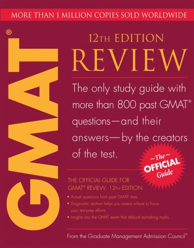 The Official Guide for GMAT Review 9780470449745