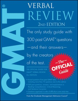 The Official Guide for GMAT Verbal Review 9780470449752