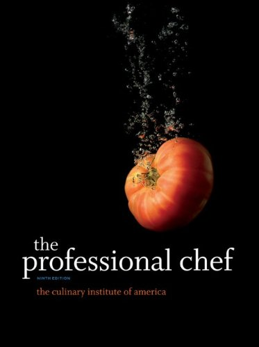 The Professional Chef 9780470421352