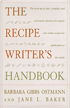 The Recipe Writer's Handbook 9780471172949