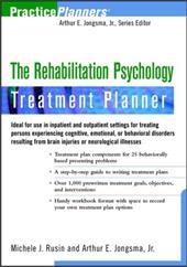 The Rehabilitation Psychology Treatment Planner