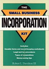 The Small Business Incorporation Kit 1564916