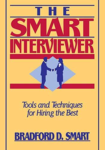 The Smart Interviewer 9780471513322