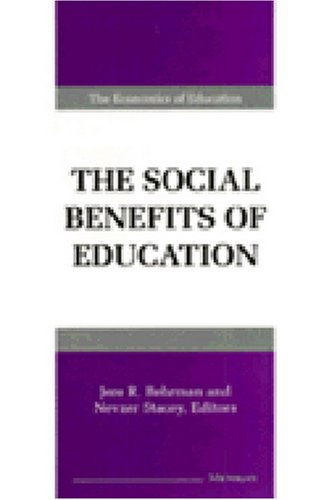 The Social Benefits of Education 9780472107698