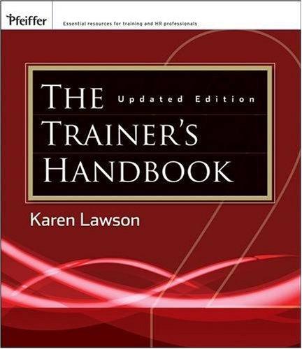 The Trainer's Handbook 9780470403044