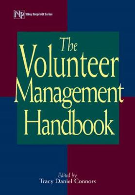 The Volunteer Management Handbook 9780471371427