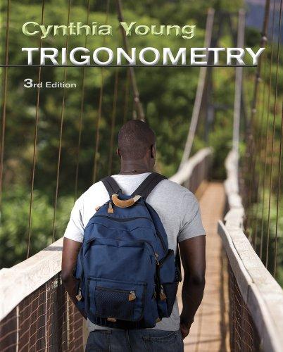 Trigonometry 9780470648025