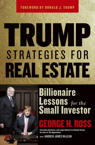 Trump Strategies for Real Estate: Billionaire Lessons for the Small Investor 9780471774341