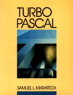 Turbo Pascal 9780471605478