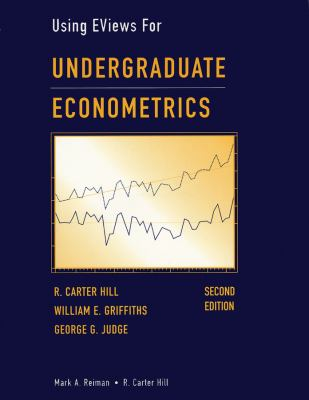 Undergraduate Econometrics, Using Eviews for 9780471412397