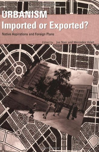 Urbanism: Imported or Exported 9780470851609