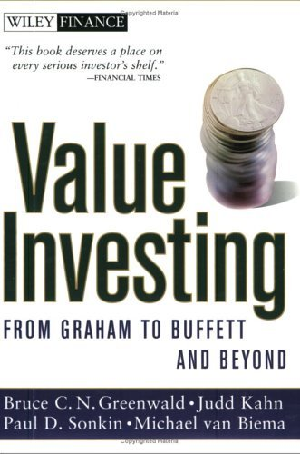 Value Investing: From Graham to Buffett and Beyond 9780471463399