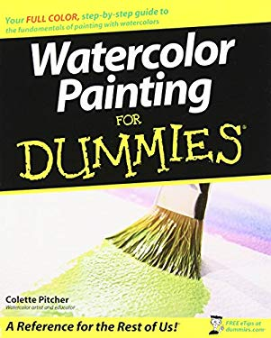 Watercolor Painting for Dummies 9780470182314