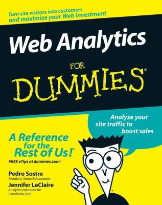Web Analytics for Dummies 9780470098240
