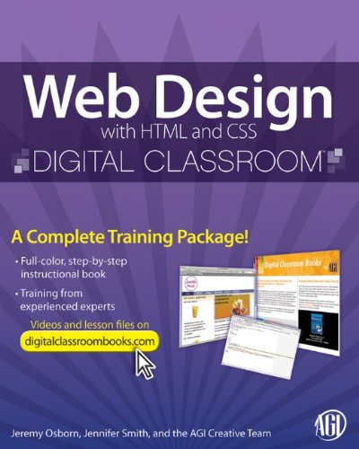 Web Design with HTML and CSS Digital Classroom 9780470583609
