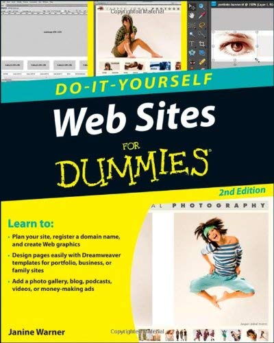 Do-It-Yourself Websites for Dummies 9780470565209