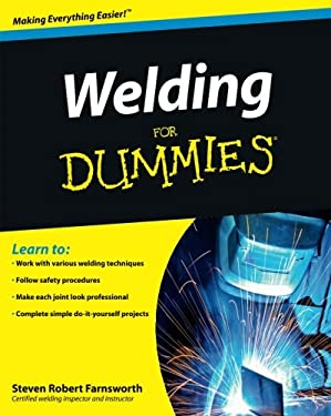 Welding for Dummies 9780470455968