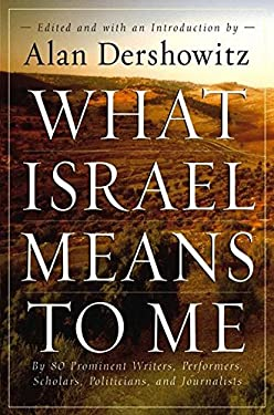 What Israel Means to Me 9780470169148