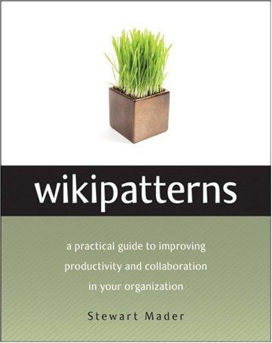 Wikipatterns 9780470223628