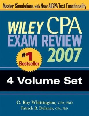 Wiley CPA Exam Review 2007 4-Volume Set 9780471798712