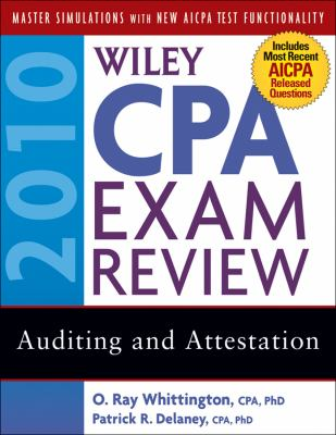 Wiley CPA Exam Review: Auditing and Attestation 9780470453490