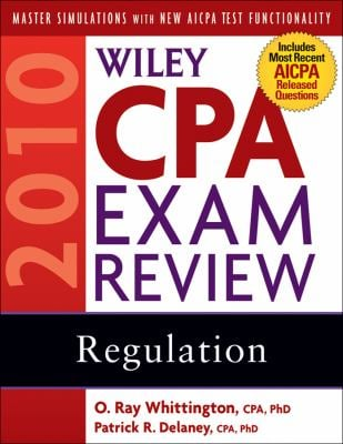 Wiley CPA Exam Review: Regulation 9780470453520
