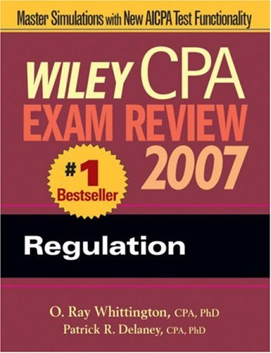 Wiley CPA Exam Review: Regulation 9780471797746