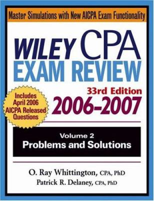 Wiley CPA Exam Review, Volume 2: Problems and Solutions 9780471726777