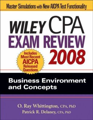 Wiley CPA Exam Review: Business Environment and Concepts 9780470135228