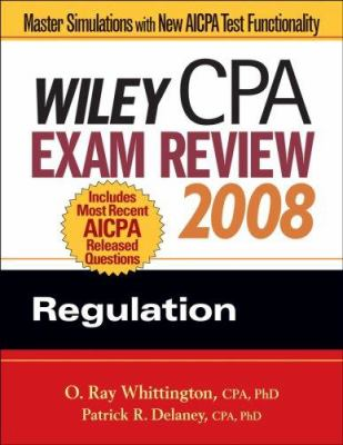 Wiley CPA Exam Review: Regulation 9780470135242